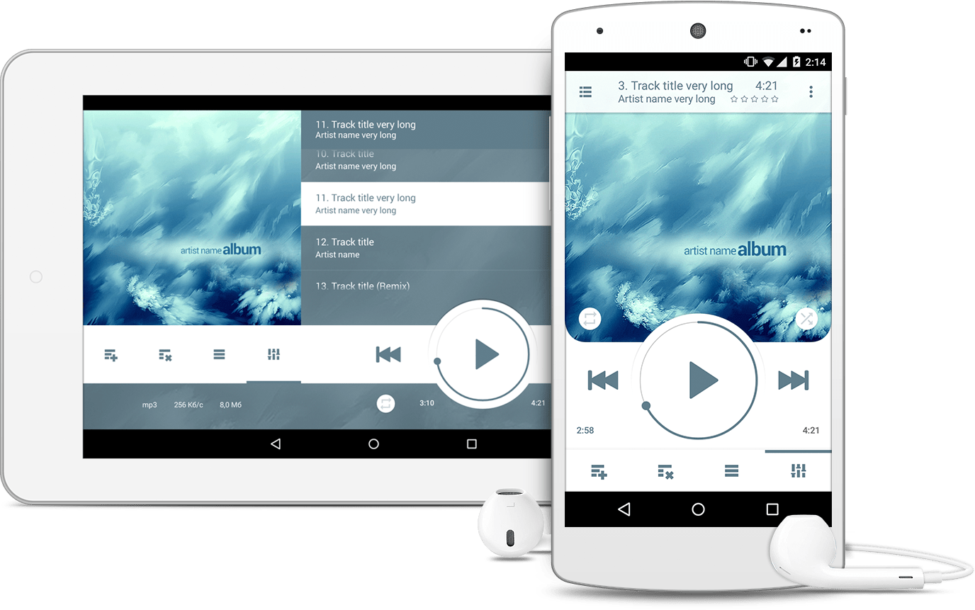 NRG Player – Music player for Android